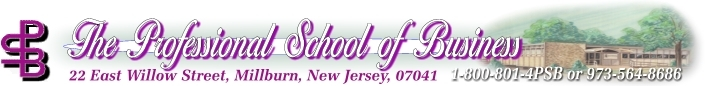 The Professional School of Business - New Jersey Real Estate and Insurance Courses